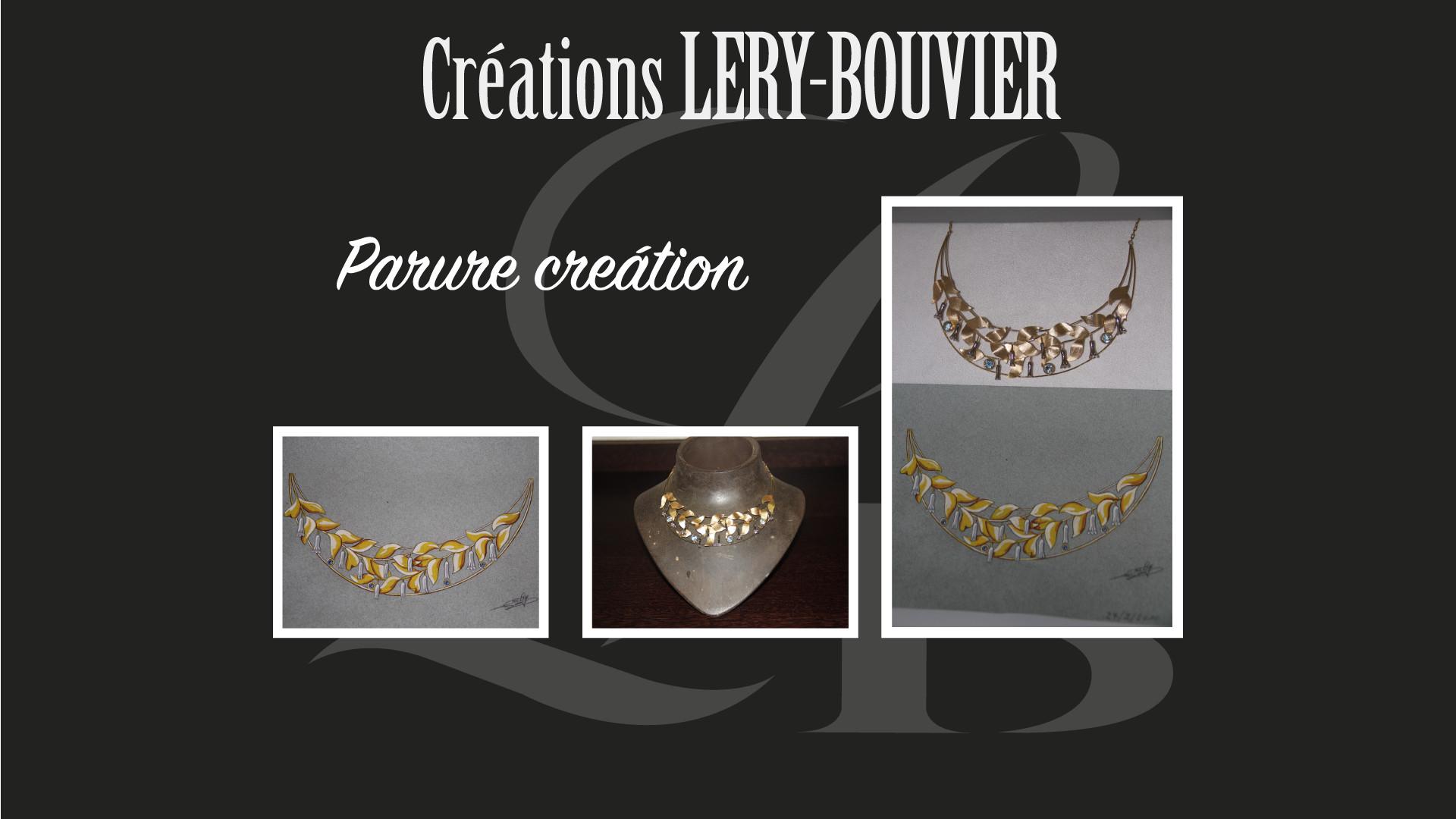 Création Lery Bouvier Parure Or