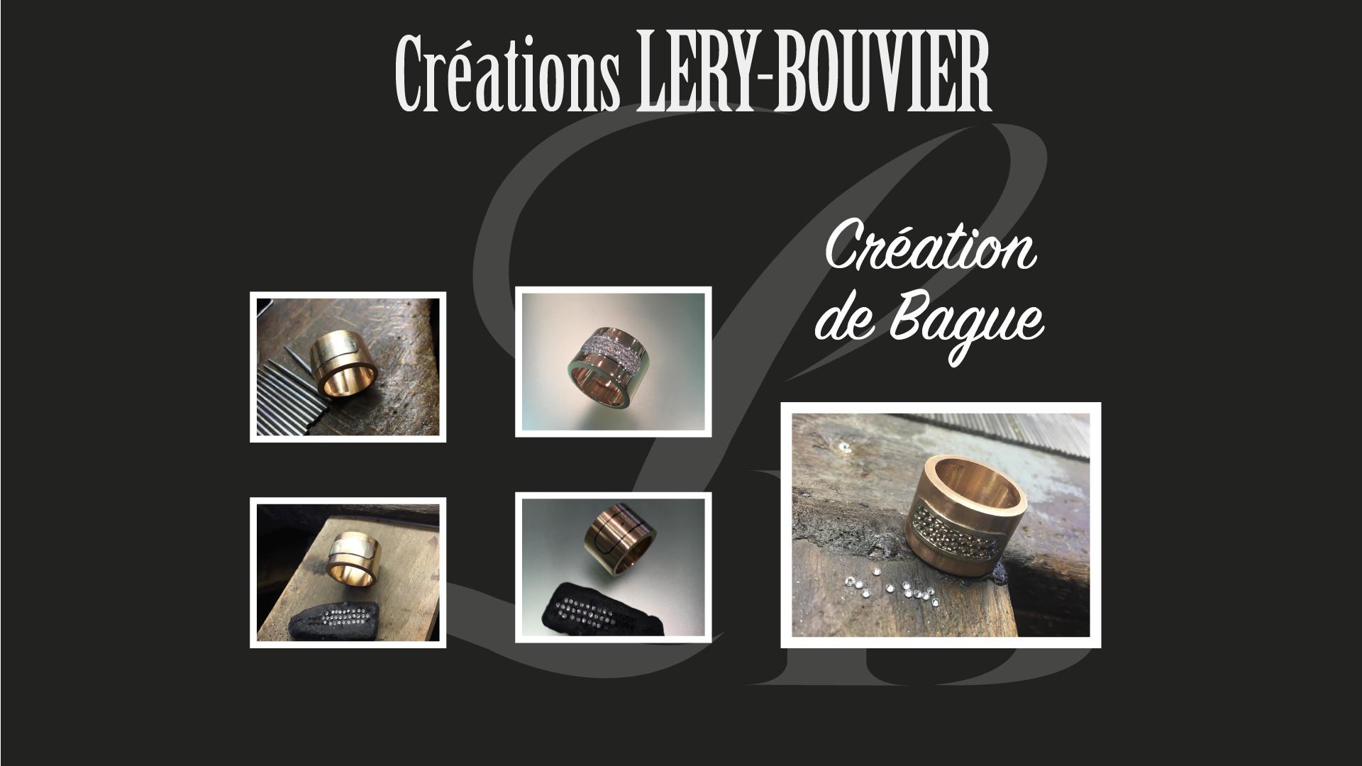 Création Lery Bouvier 2018 Bague