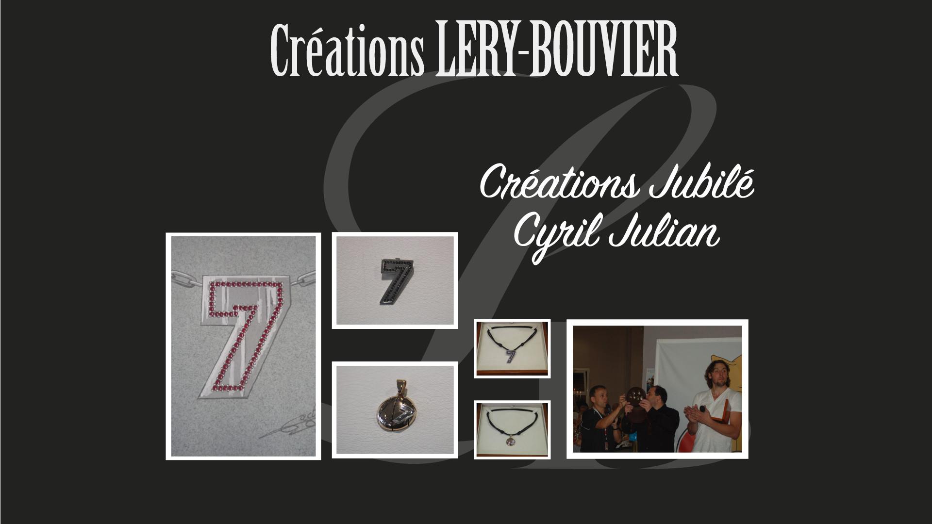 Création Lery Bouvier pour le Jubilé Cyril Julian