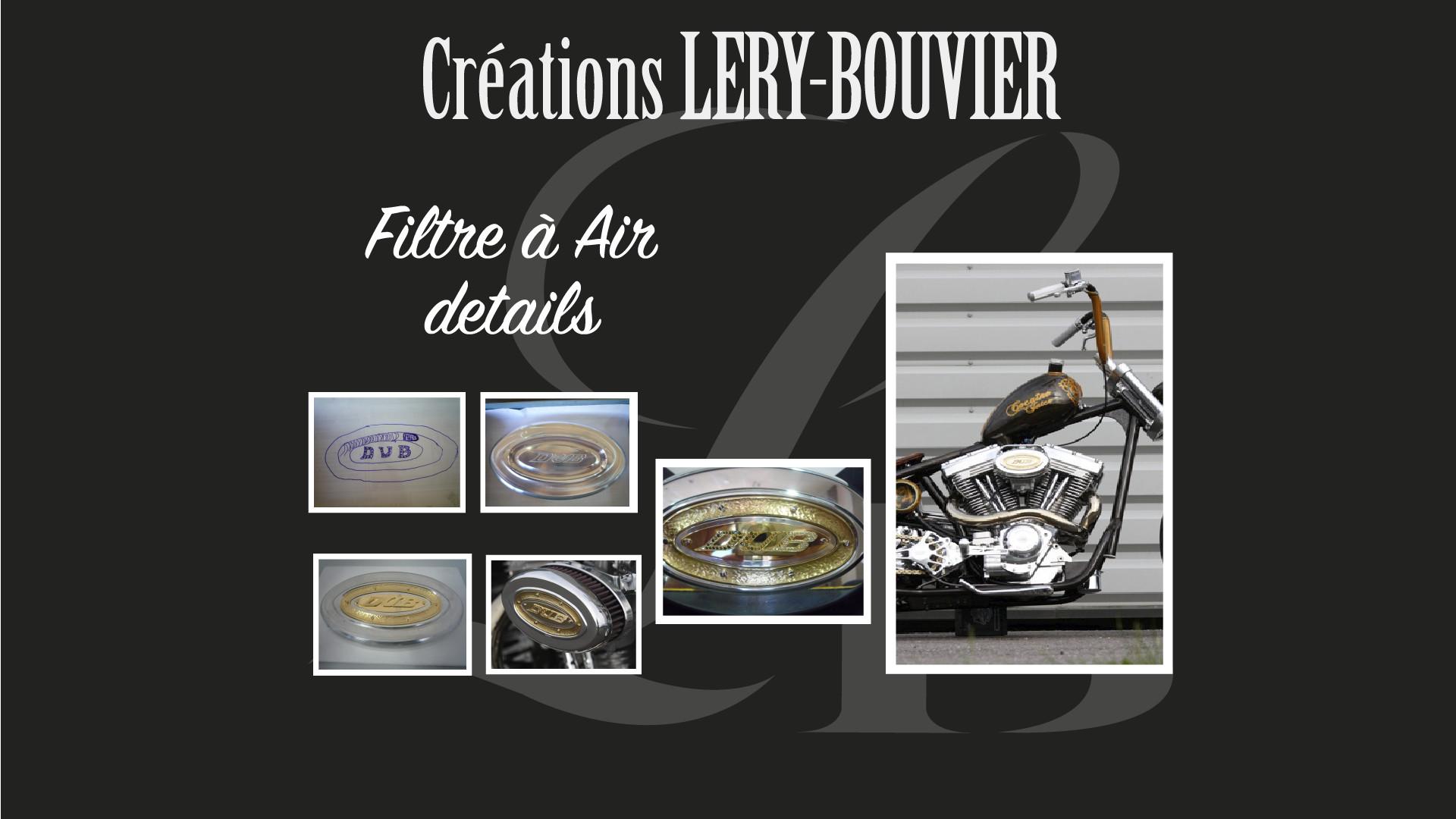 Création Lery Bouvier Filtre à Air